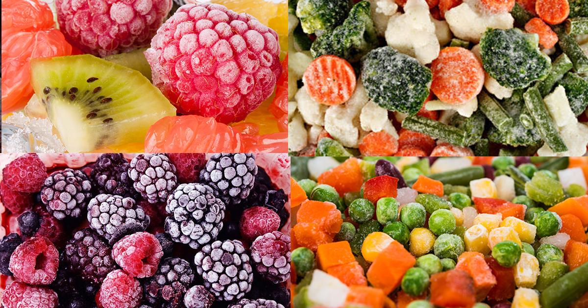 Proaspete, la conservă sau congelate? Care e varianta cea mai sănătoasă pentru a consuma fructele şi legume