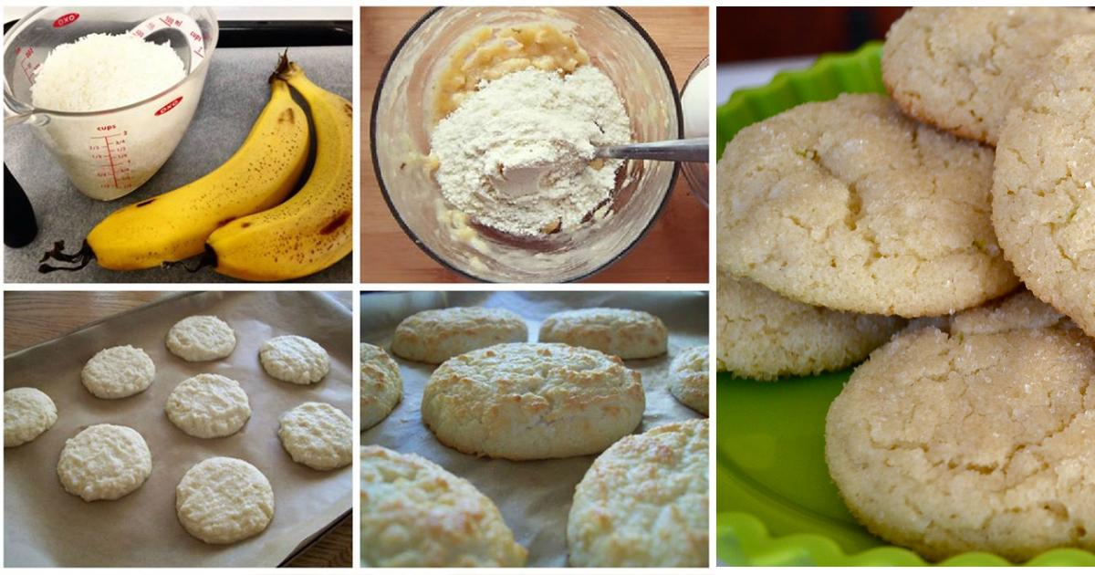 Fursecuri nevinovate, un desert delicios fără zahăr, făină, grăsimi sau praf de copt