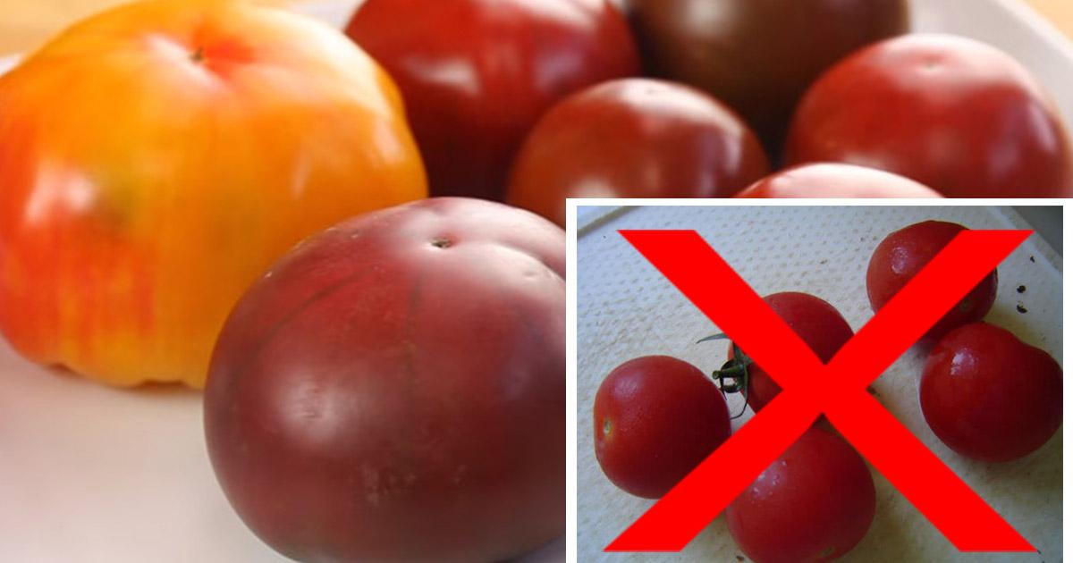 Cum păstrezi roșiile proaspete mai mult timp. Iată un truc genial dezvăluit de un celebru bucătar