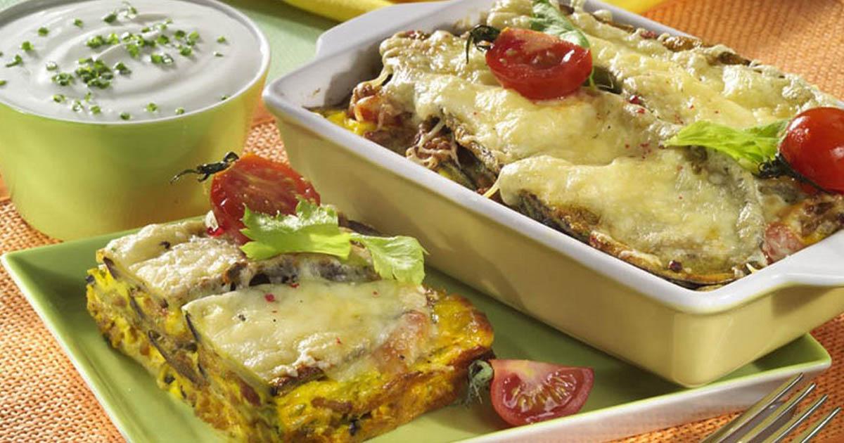 Lasagna umplută cu bunătăți. Un deliciu pe care toată familia îl adoră