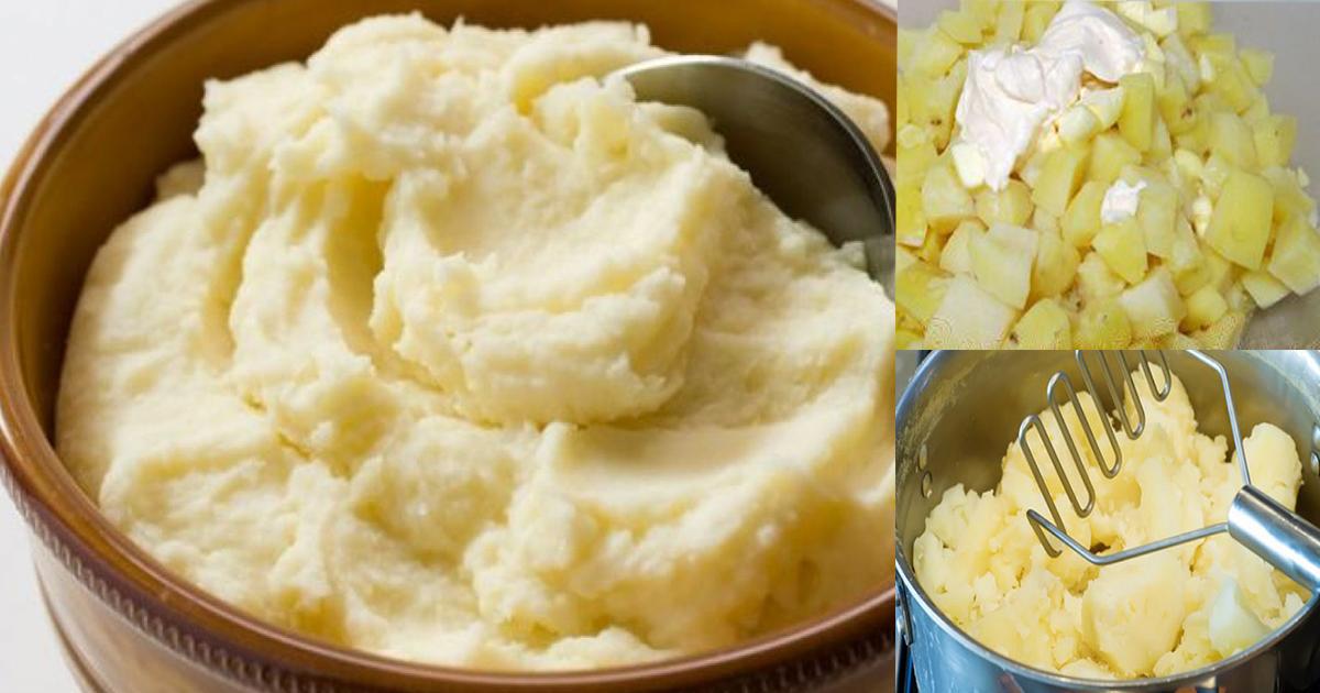 Greșeala pe care o faci când gătești piure de cartofi