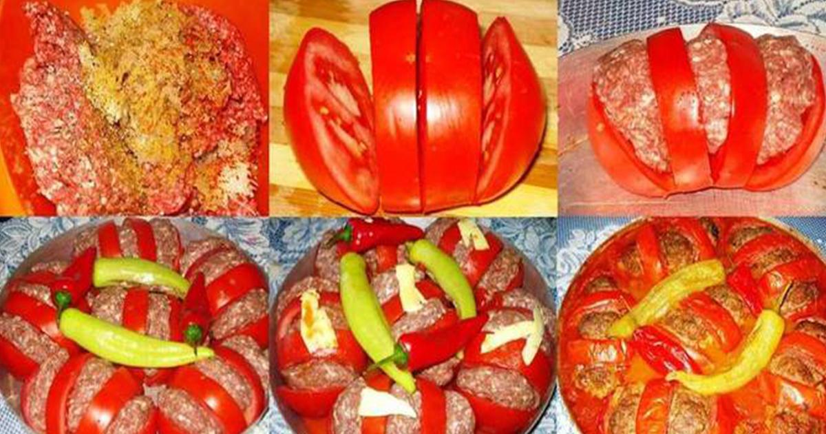 Roșii coapte după reţetă arabă! Incredibil de delicios și simplu de preparat!