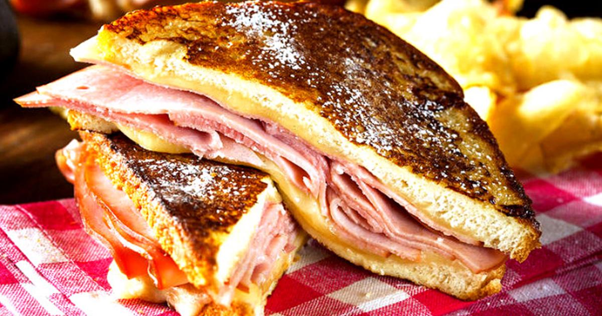 Gata în numai 8 minute, perfect pentru mic-dejun, prânz sau cină. Uite cum se prepară Sandvișul Monte Cristo