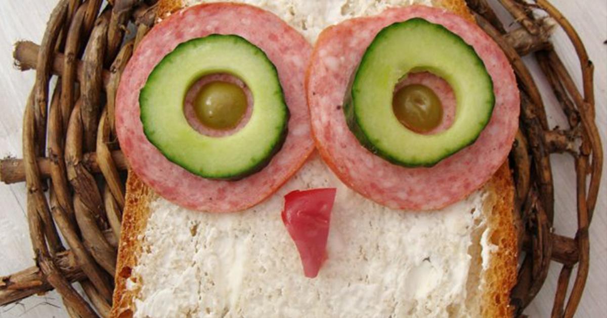 Sandvișul Bufnița Vesela, preferatul copiilor și al adulților