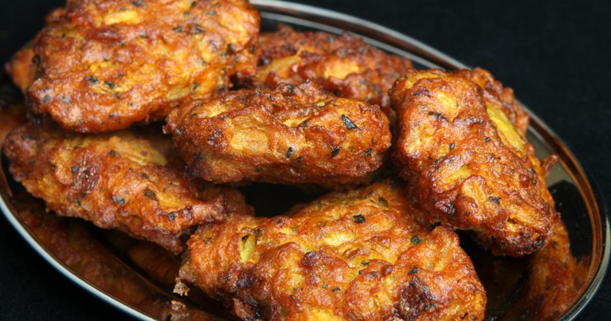 Onion Bhaji-Chifteluțe indiene de post cu ceapă