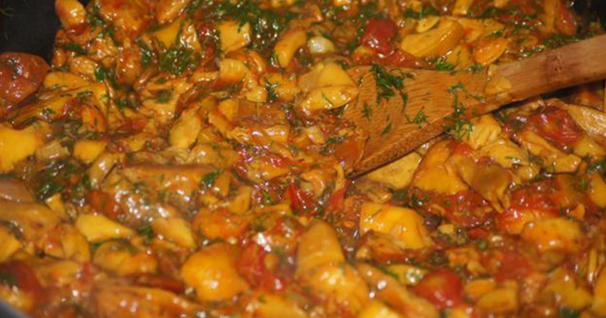 Tocăniță de ghebe, cea mai delicioasă și mai sănătoasă mâncare de post