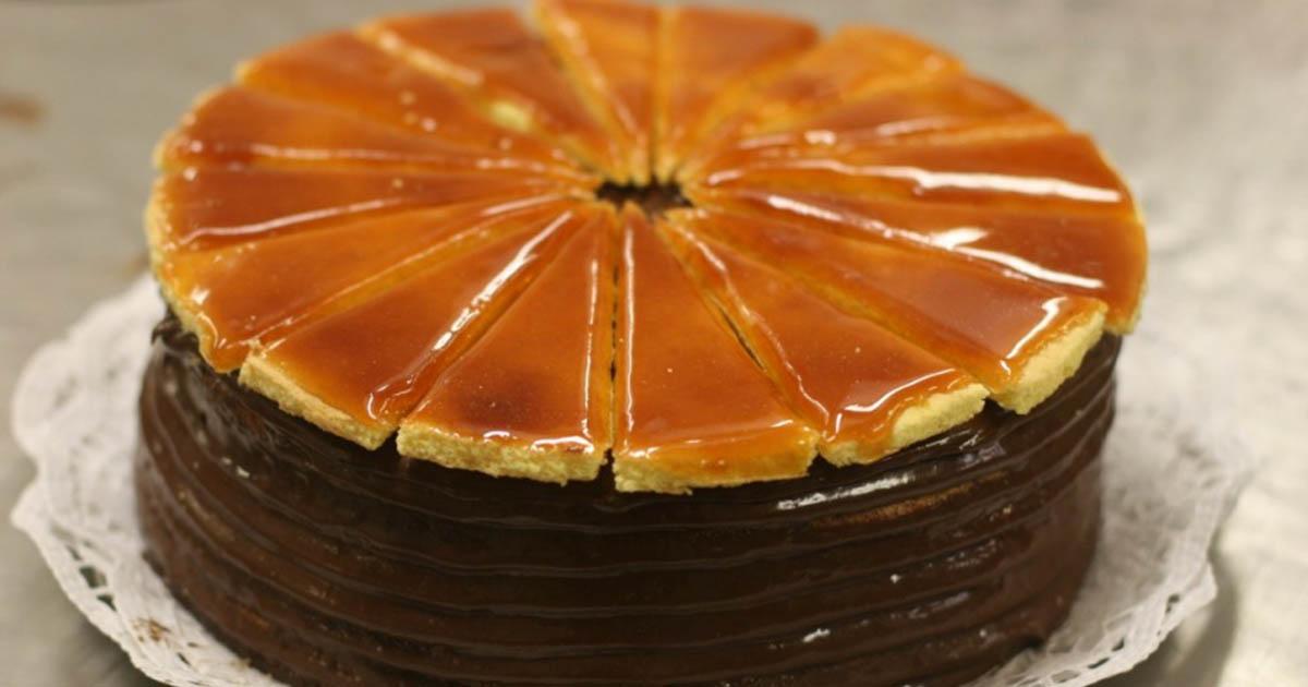 În sfârșit am făcut celebrul tort ungresc Doboș! Recomand cu drag