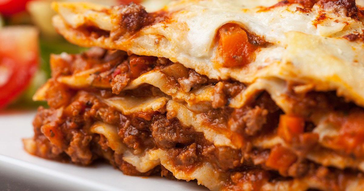 Lasagna autentică, un gust pe care nu îl vei putea uita prea curând
