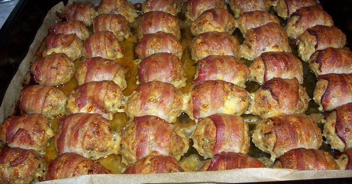 Chifteluțe învelite în bacon, un aperitiv vedetă care face furori. Pur și simplu nu îi poți rezista!