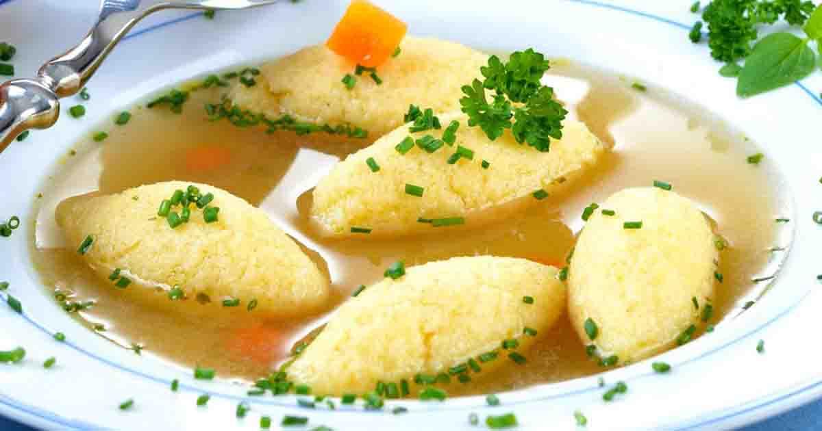 Supă cu găluște de post. O rețetă delicioasă pe care orice gospodină trebuie să o încerce