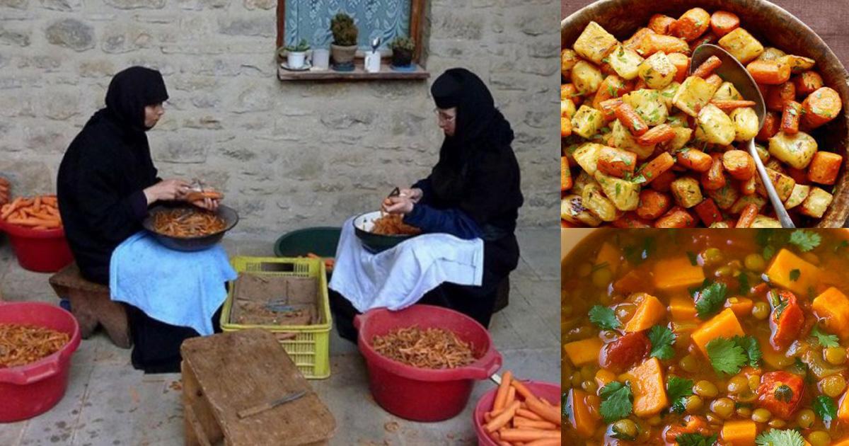Mâncăruri sfinte şi sănătoase de post, preparate de măicuțe în chiliile mănăstireşti! Rețetele pe îndelete pentru toate gospodinele