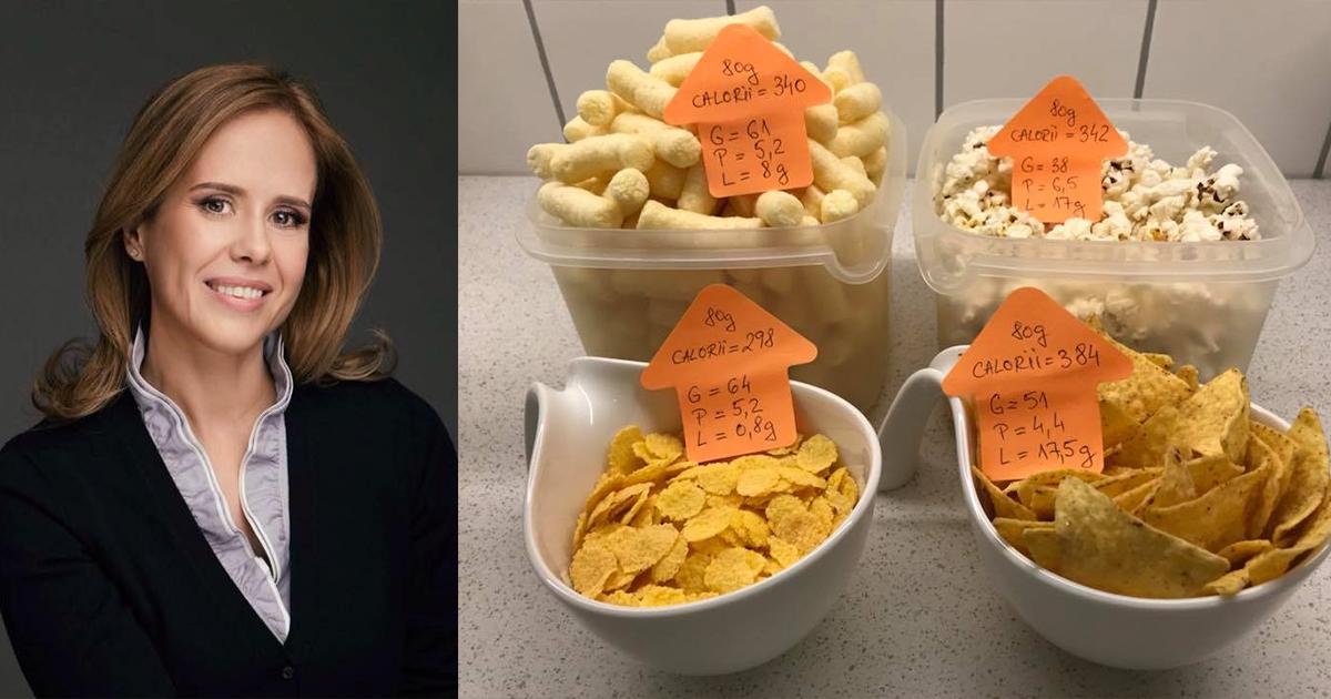 """Pufuleți, popcorn, fulgi de porumb sau chipsuri? Care este """"ronțăiala"""" cea mai sănătoasă. Binecunoscutul medic nutriționist Mihaela Bilic ne dezvăluie adevărul"""