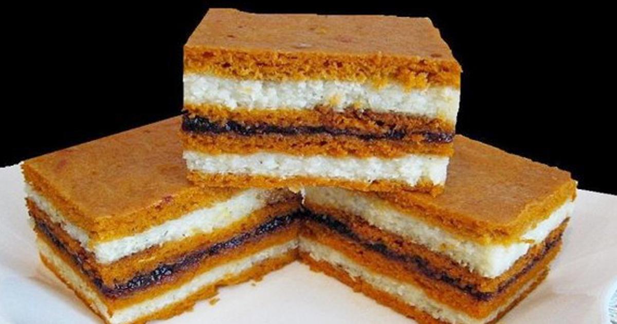 Prăjitură de post cu bulion și griș. Nu ai idee cât de bună poate fi!