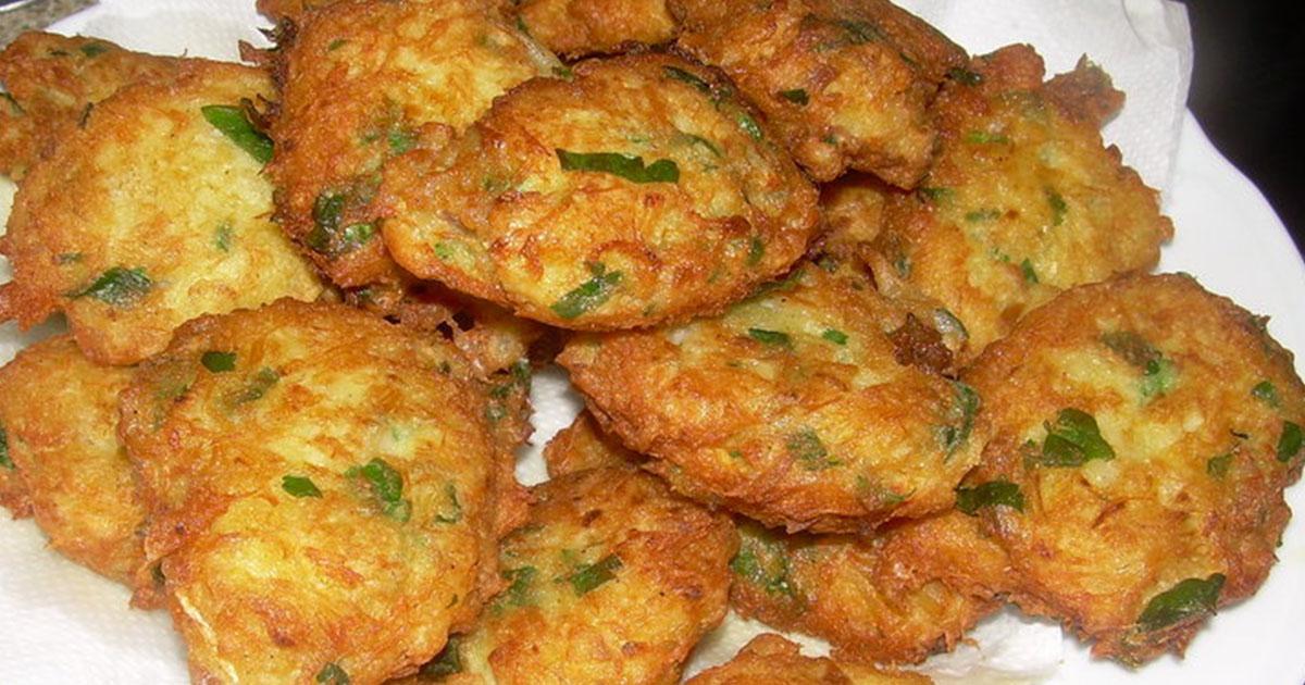 Chifteluțe de pește cu usturoi verde