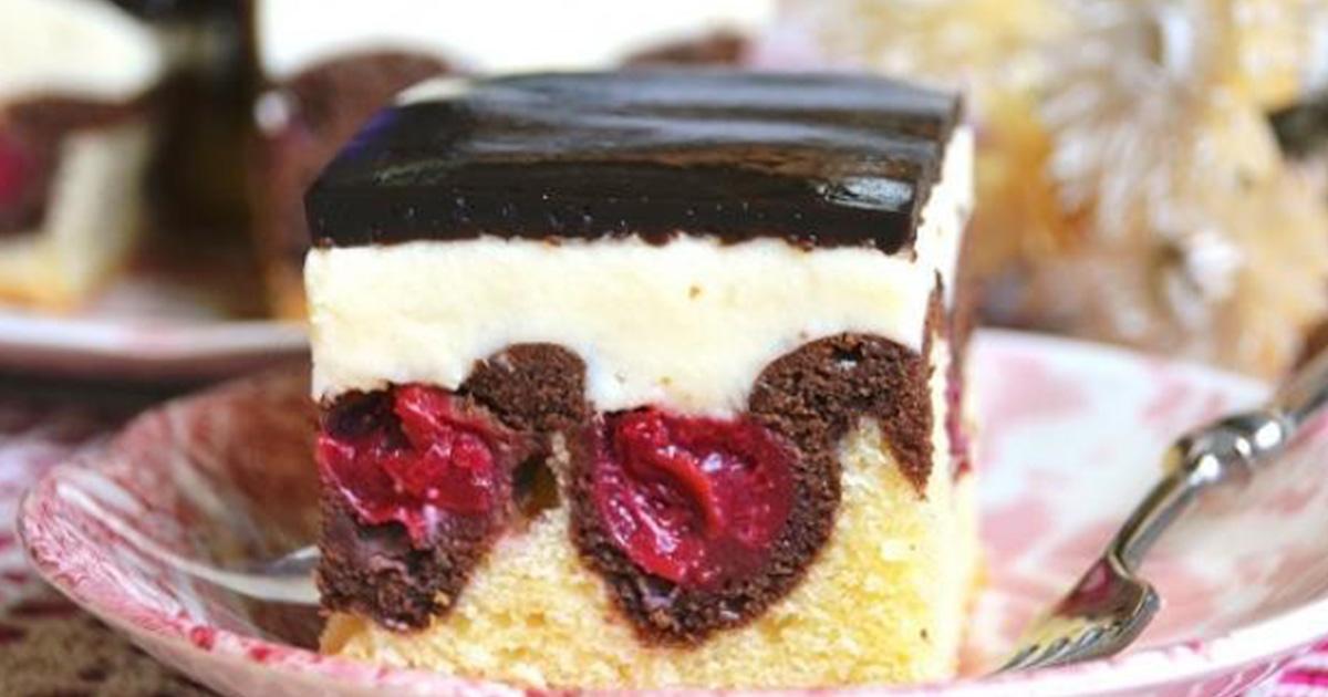 Prăjitura Valurile Dunării, o prăjitură românească de sezon