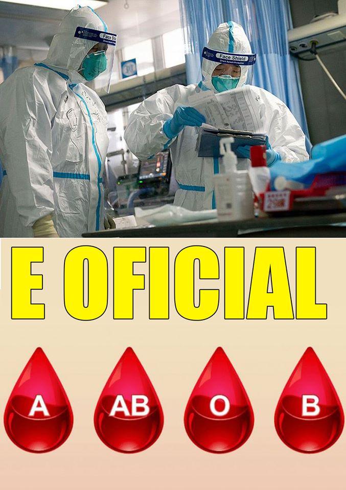 Cercetătorii au descoperit! O grupă de sânge e mai predispusă la Covid-19! Ce persoane au șanse mai mari la boală