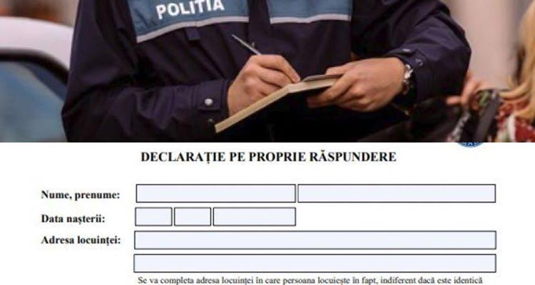 Greșeala pe care o fac românii când completează declarația pe propria răspundere. Te poate costa scump: