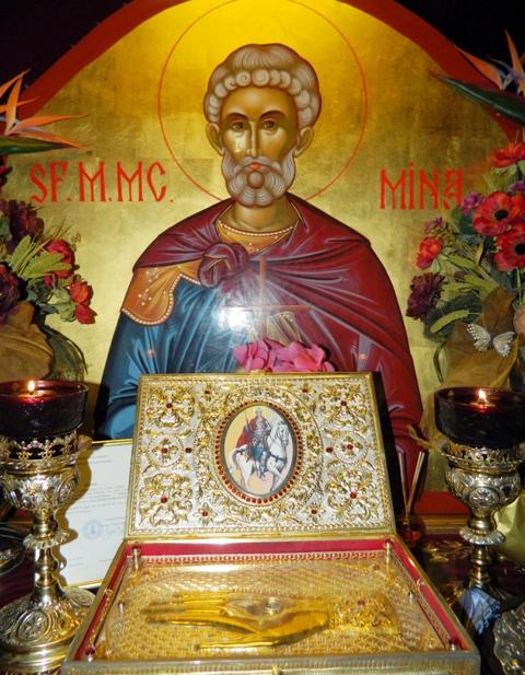 Rugăciune către Sfantul Mare Mucenic Mina! Te ajută în perioadele mai grele ale vieții