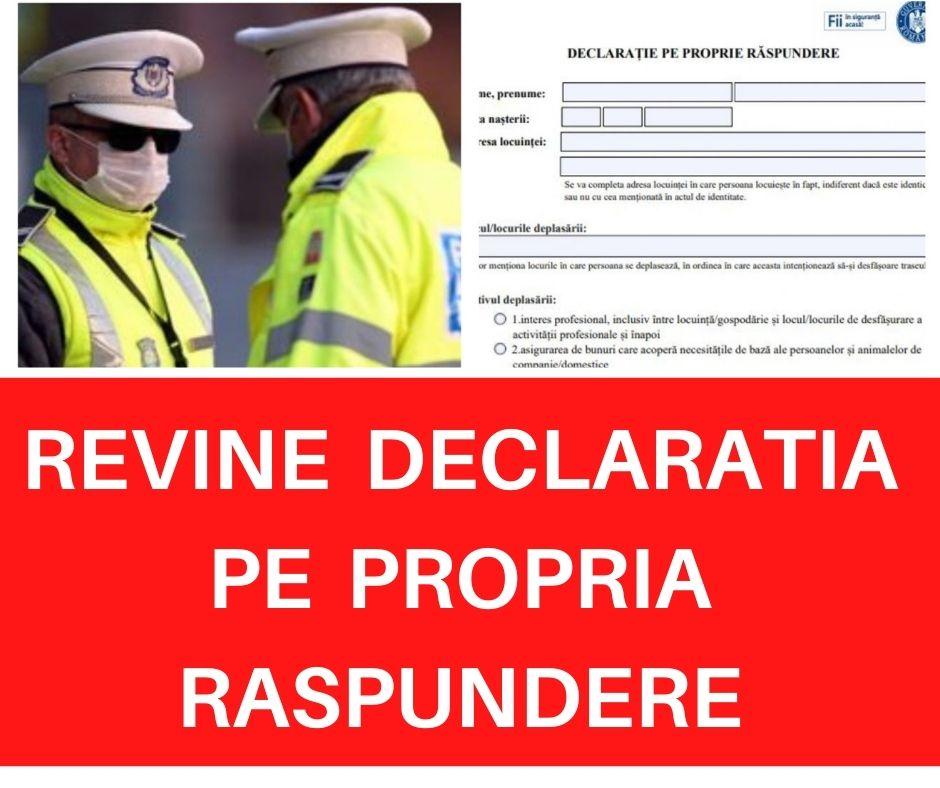 Anunt de ULTIMA ORA! Klaus Iohannis a facut anuntul: E nevoie de declarație pe propria răspundere