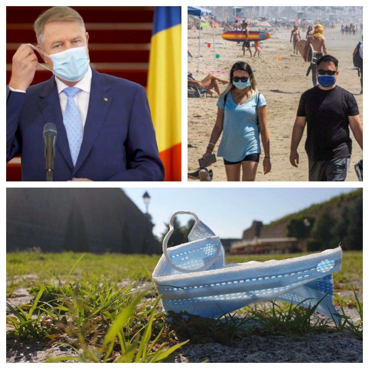 ADIO, mască de protecție din vară?! Iohannis a dat verdictul! Cum vor arăta noile măsuri așteptate de români