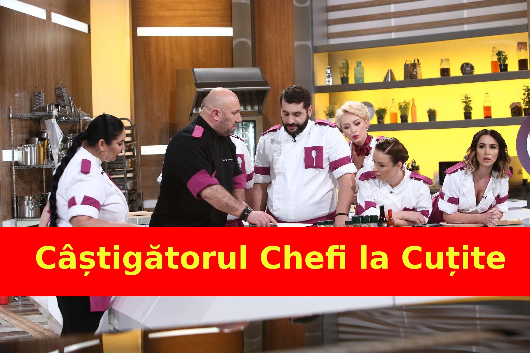 S-a aflat CÂȘTIGĂTORUL Chefi la Cuțite!