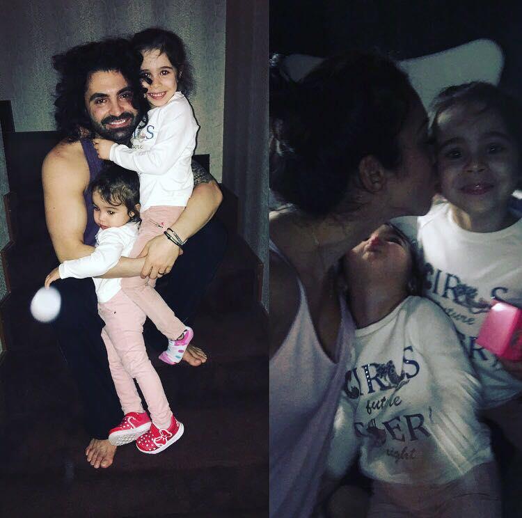 În timp ce Raluca se sărută cu altul, Pepe a luat decizia. I-a luat fetițele și…